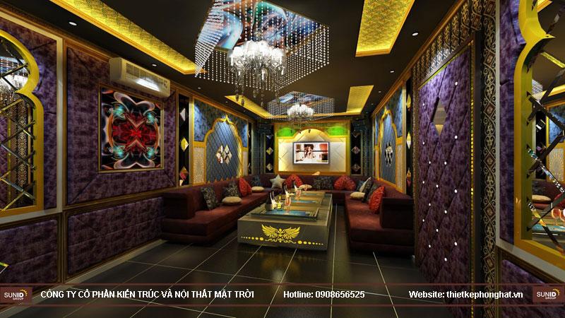 thiết kế phòng karaoke đơn giản sang trọng 5