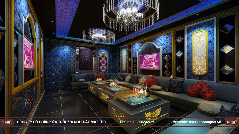 thiết kế phòng karaoke đơn giản sang trọng 7