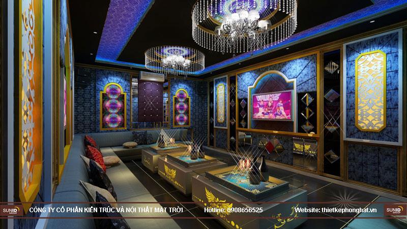 thiết kế phòng karaoke đơn giản sang trọng 8