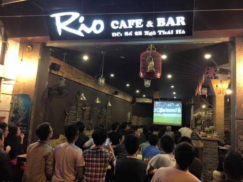 thiết kế quán cafe bóng đá6