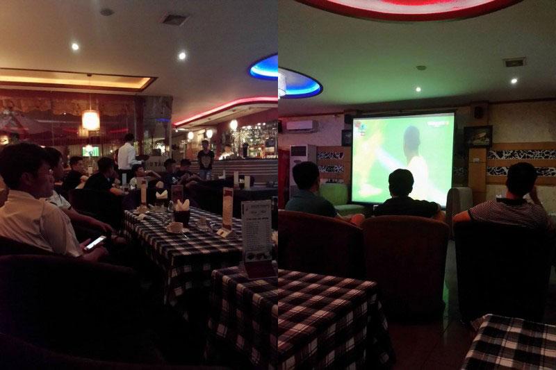 thiết kế quán cafe bóng đá7