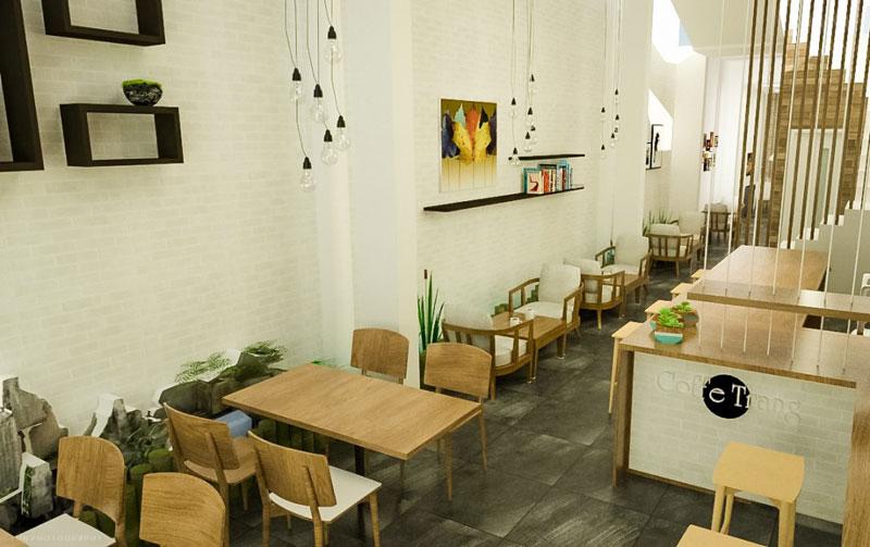 thiết kế quán cafe diện tích nhỏ2
