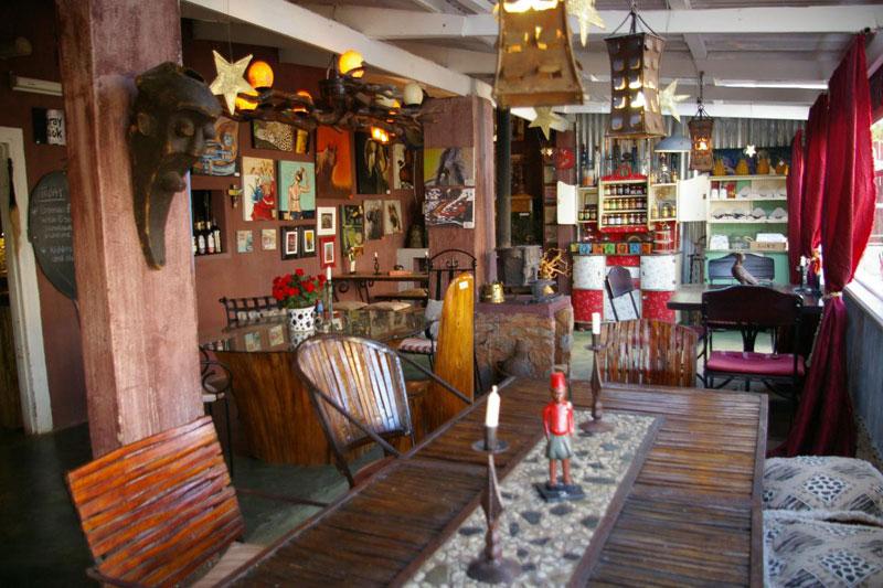 phong cách cafe bohemian