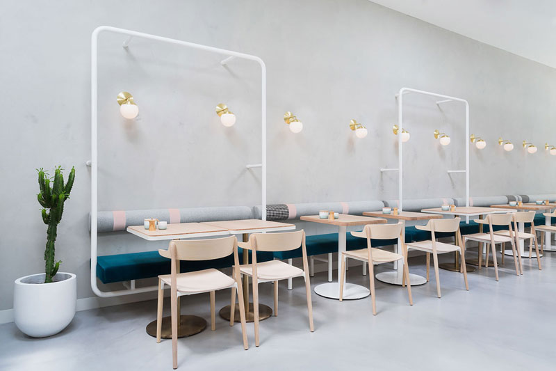 phong cách cafe minimalist tối giản1