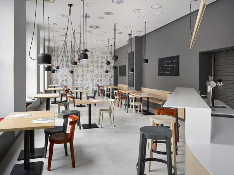 phong cách cafe minimalist tối giản2