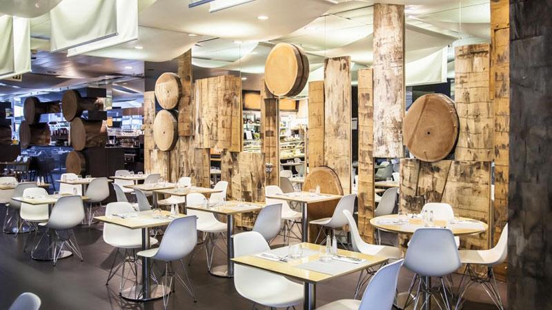 phong cách cafe modern hiện đại
