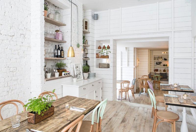 phong cách cafe scandinavian