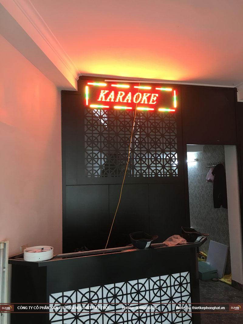 cải tạo nâng cấp phòng karaoke 26