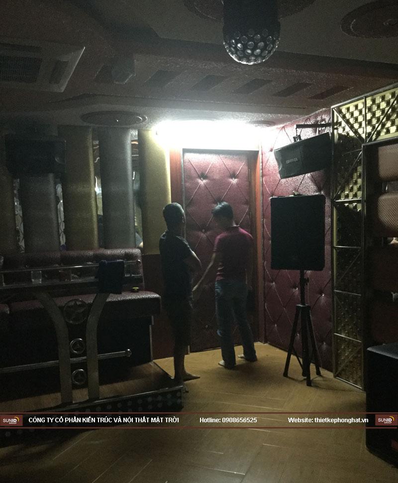 cải tạo nâng cấp phòng karaoke 5