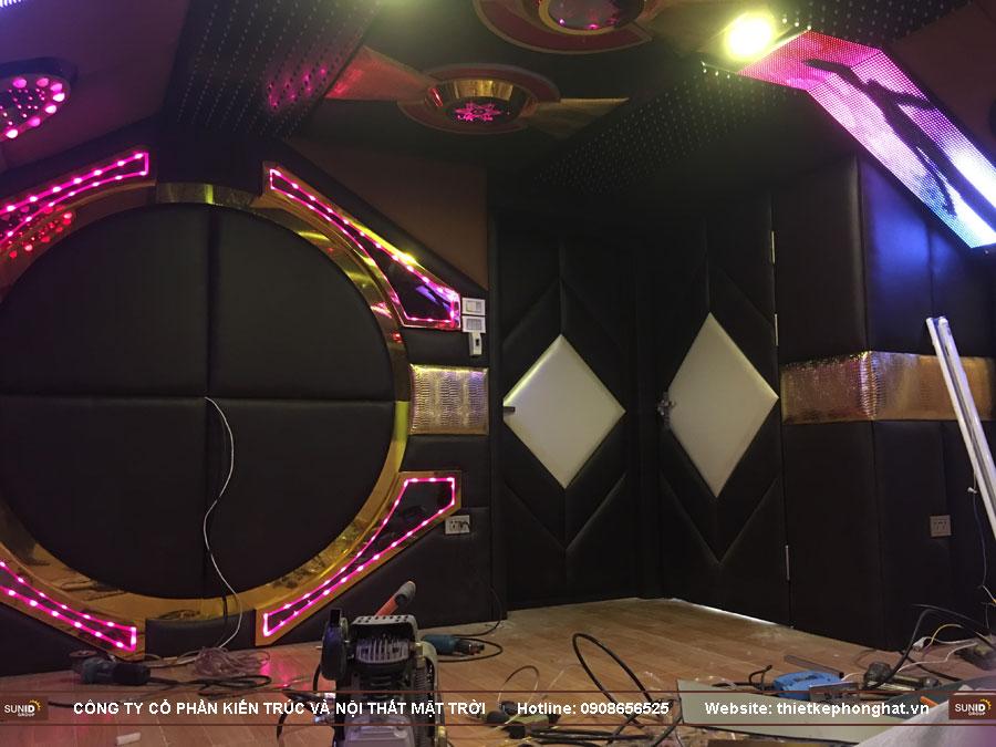 thi công phòng hát karaoke 20 m2 ảnh 22