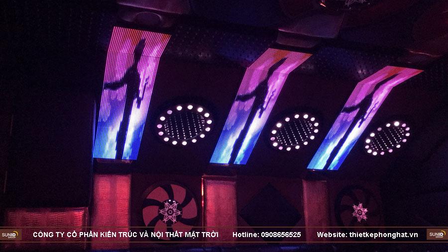 thi công phòng hát karaoke 20 m2