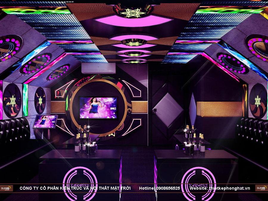 thi công phòng hát karaoke 20 m2 ảnh 5