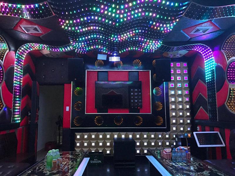 Thiết kế phòng karaoke tại Vĩnh Phúc 2