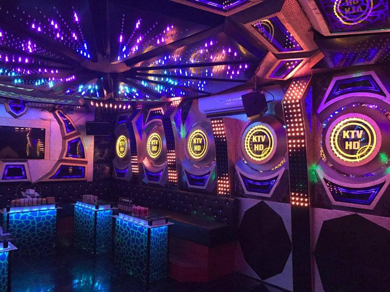 Thiết kế phòng karaoke tại Vĩnh Phúc 8