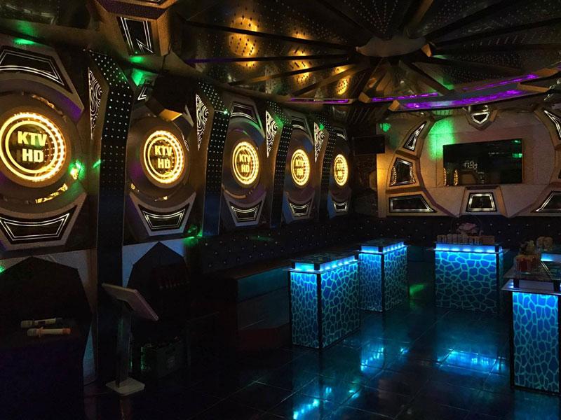 Thiết kế phòng karaoke tại Vĩnh Phúc 9