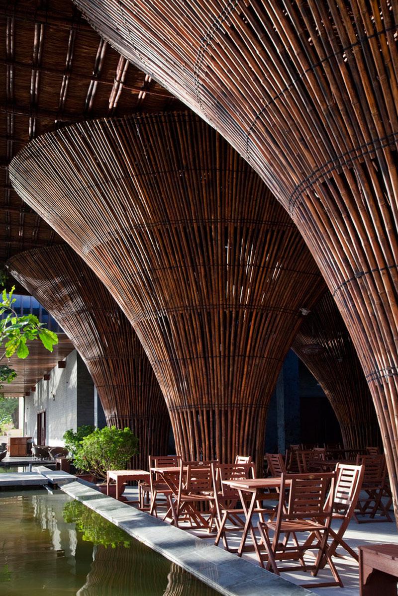 thiết kế quán cafe độc đáo kontum indochine 14