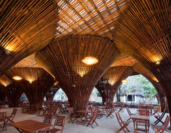 thiết kế quán cafe độc đáo kontum indochine 5
