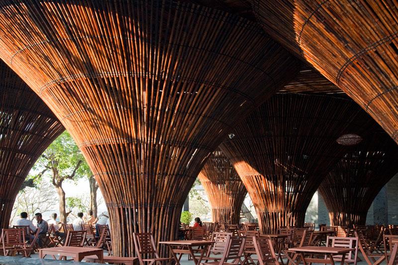 thiết kế quán cafe độc đáo kontum indochine 6
