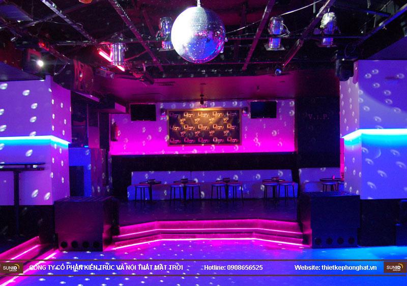 thiết kế thi công quán bar qzona vip11