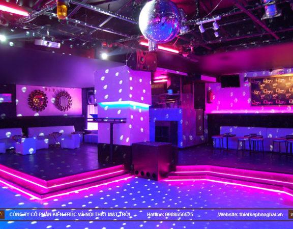 thiết kế thi công quán bar qzona vip12