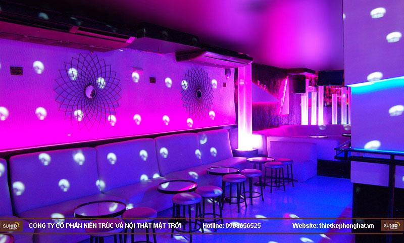 thiết kế thi công quán bar qzona vip13