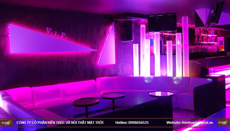 thiết kế thi công quán bar qzona vip14