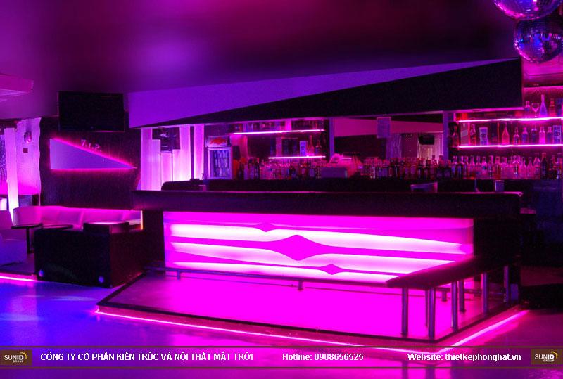 thiết kế thi công quán bar qzona vip15