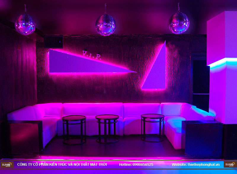 thiết kế thi công quán bar qzona vip16