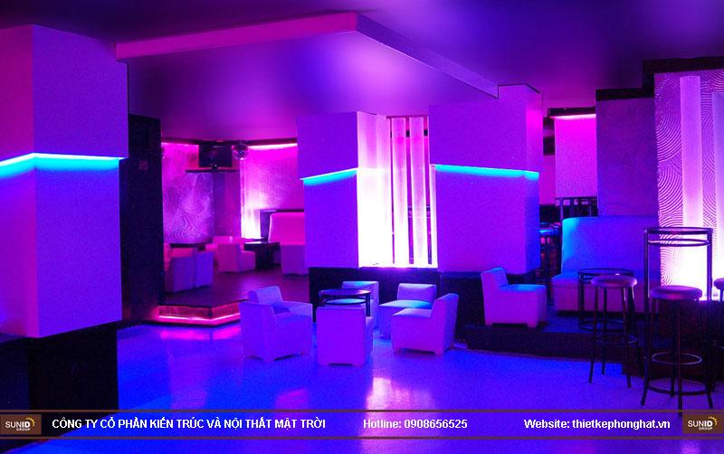 thiết kế thi công quán bar qzona vip18