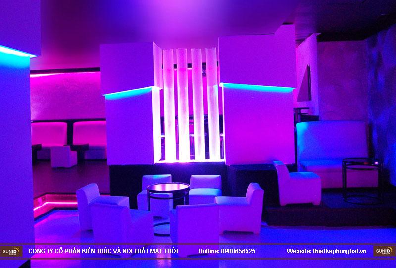 thiết kế thi công quán bar qzona vip19