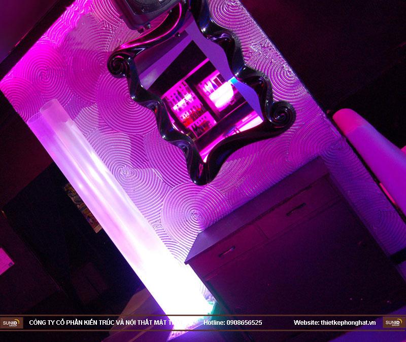 thiết kế thi công quán bar qzona vip22