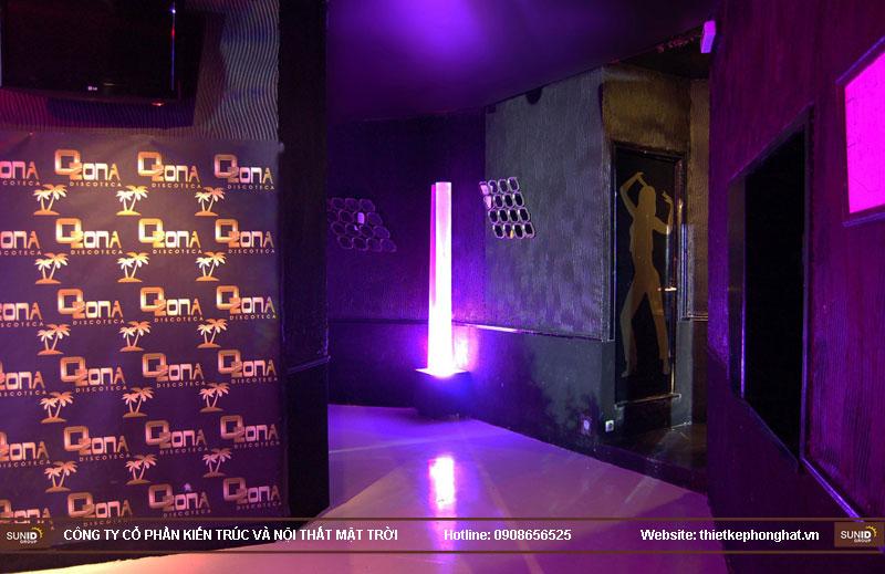 thiết kế thi công quán bar qzona vip24
