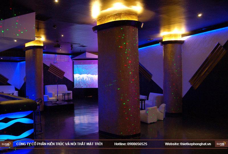 thiết kế thi công quán bar qzona vip26