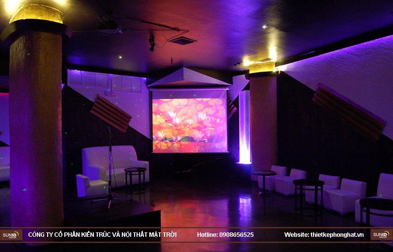thiết kế thi công quán bar qzona vip27