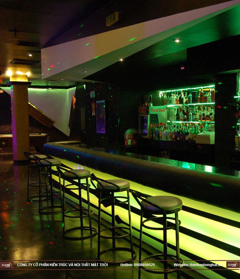 thiết kế thi công quán bar qzona vip28