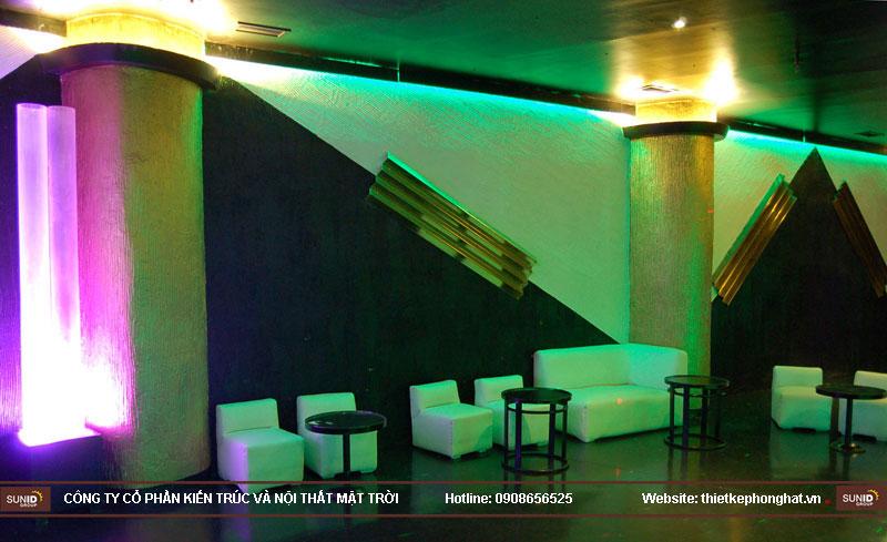thiết kế thi công quán bar qzona vip29