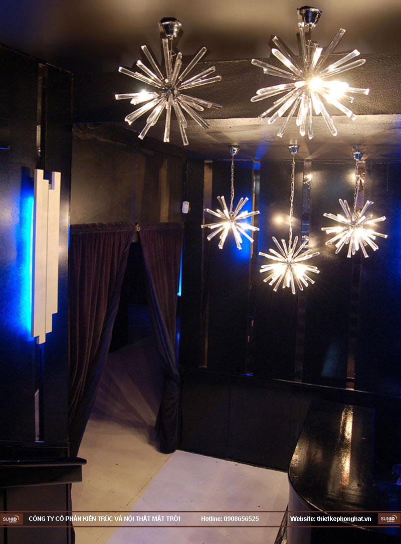 thiết kế thi công quán bar qzona vip3