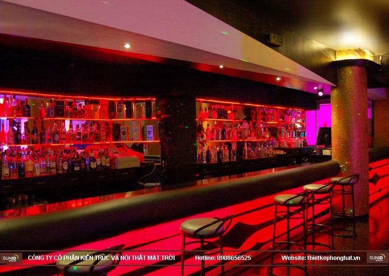 thiết kế thi công quán bar qzona vip30