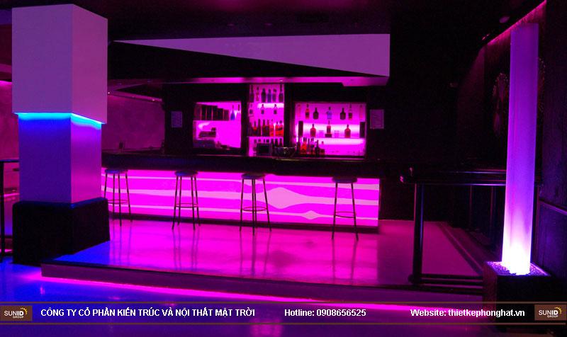 thiết kế thi công quán bar qzona vip4