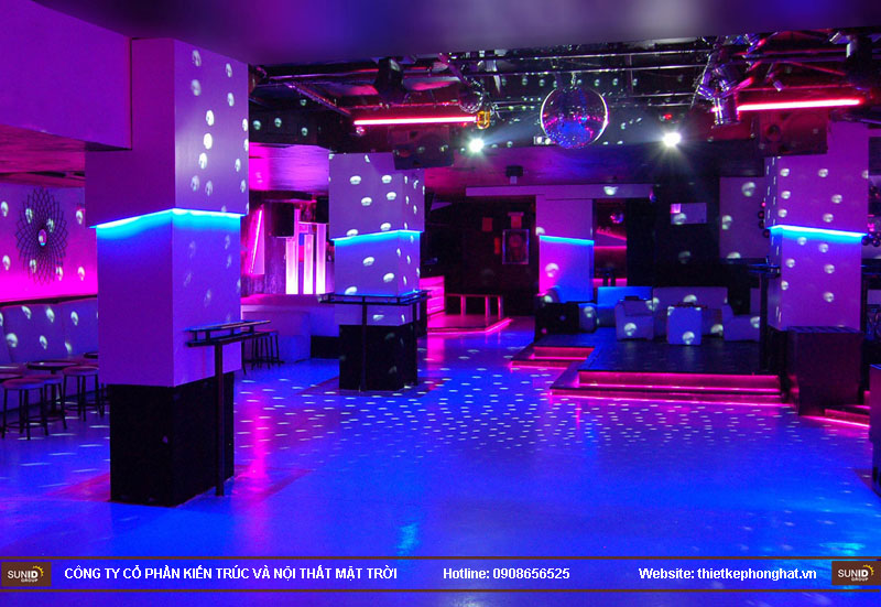 thiết kế thi công quán bar qzona vip5