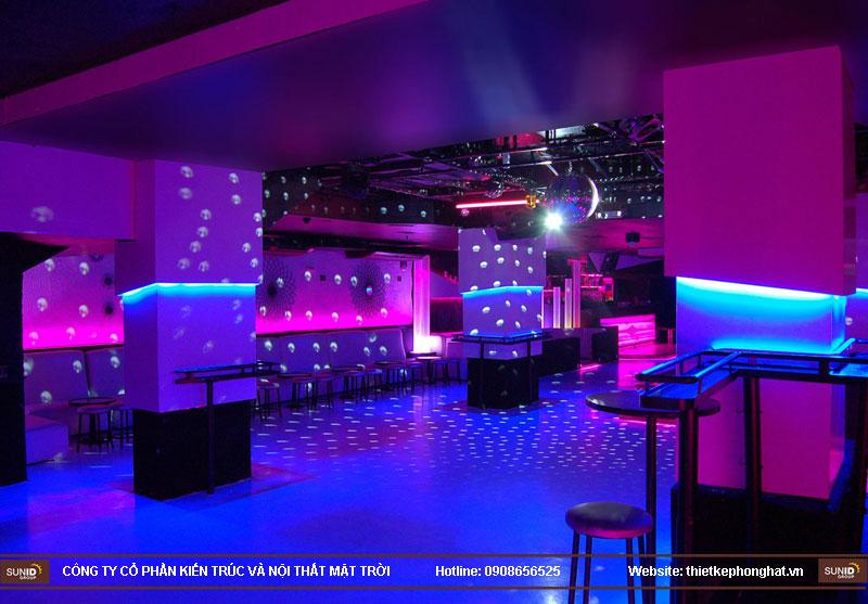 thiết kế thi công quán bar qzona vip8