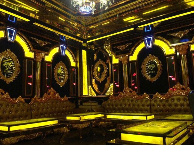 phào chỉ phù điêu trang trí nội thất karaoke 5