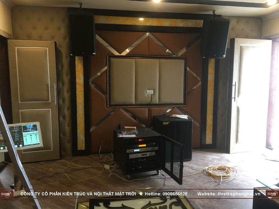 thi công phòng karaoke tân cổ điển tây hồ hà nội ảnh 18