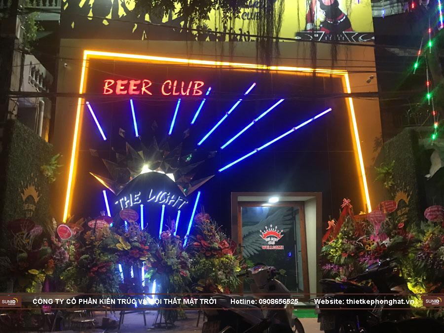 thi công quán bar mini khung sắt the light ảnh 34