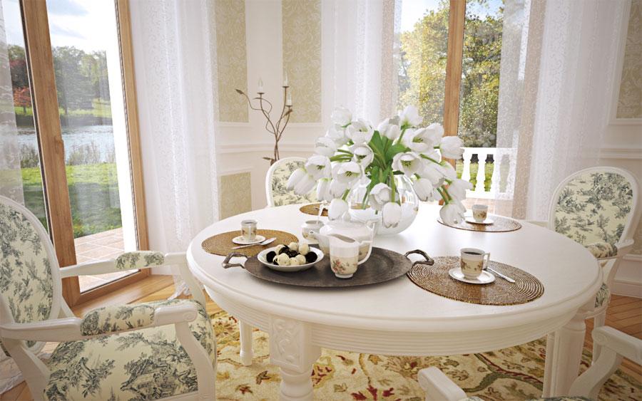 mẫu phòng trà đẹp ảnh 11