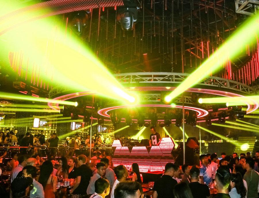 thiết kế hệ thống âm thanh ánh sáng quán bar vũ trường ảnh 3