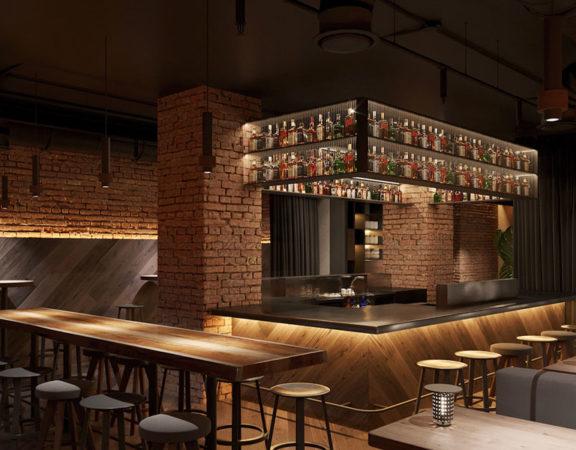 ý tưởng thiết kế quán cafe bar sang trọng ảnh 1