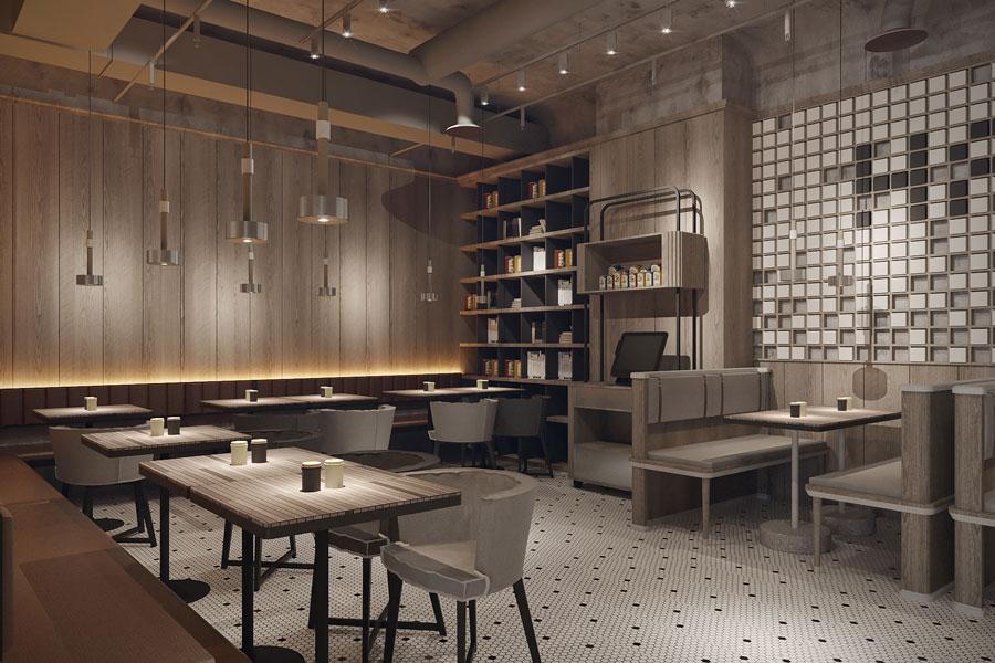 ý tưởng thiết kế quán cafe bar sang trọng ảnh 10