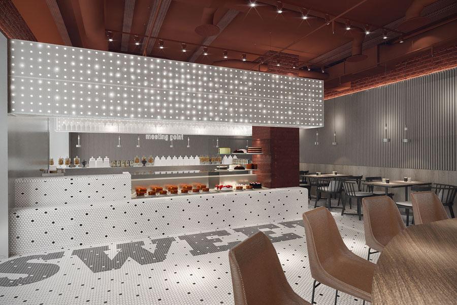 ý tưởng thiết kế quán cafe bar sang trọng ảnh 11