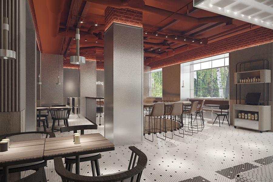 ý tưởng thiết kế quán cafe bar sang trọng ảnh 12